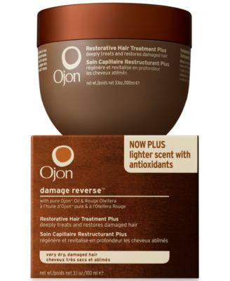 Ojon damage reverse Restorative Hair Treatment Plus, 3.1 oz
