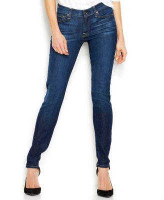 7 For All Mankind Jeans, The Skinny, Nouveau NY Dark-Wash