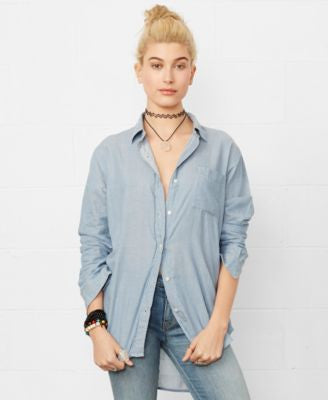 Denim & Supply Ralph Lauren Long-Sleeve Boyfriend Shirt