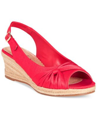 Bella Vita Sangria Too Espadrille Platform Wedge Sandals
