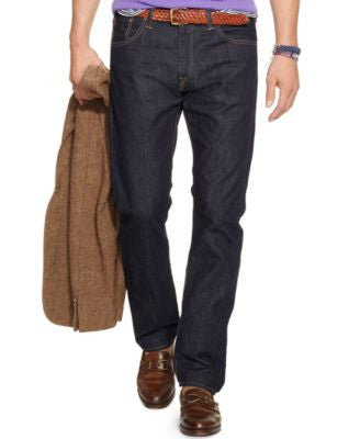 Polo Ralph Lauren Hampton Straight-Fit Rinse-Wash Jeans