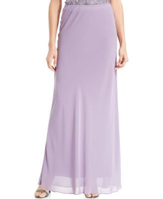 Alex Evenings Floor-Length Skirt