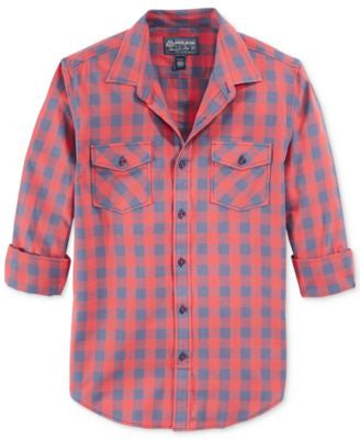 American Rag Men's Banarama Checked Shirt