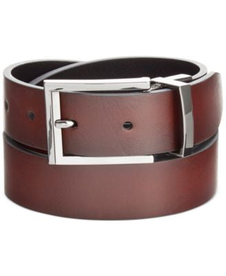 Alfani Feather-Edge Reversible Belt