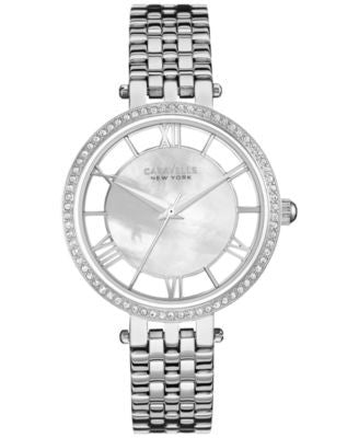 Caravelle New York by Bulova Women's Stainless Steel Bracelet Watch 34mm 43L183