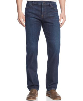 7 For All Mankind Men's Luxe Performance Straight Fit Standard Classic Jeans