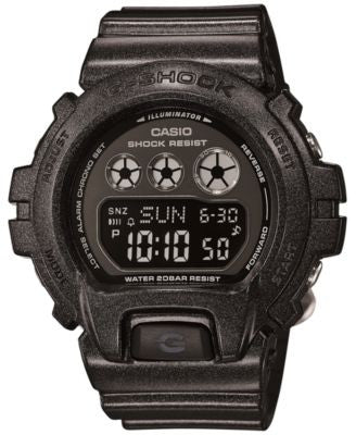 G-Shock Women's Digital Black Resin Strap Watch 49x46mm GMDS6900SM-1