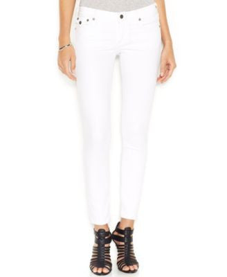 True Religion Casey Super-Skinny Jeans, Optic White Wash