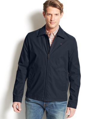 Tommy Hilfiger Classic Full-Zip Microtwill Coat