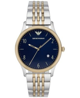 Emporio Armani Men's Two-Tone Stainless Steel Bracelet Watch 43mm AR1868