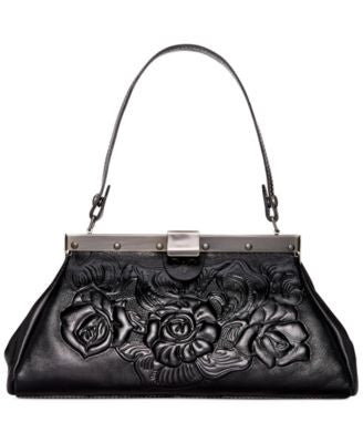 Patricia Nash Tooled Rose Ferrara Satchel