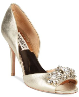 Badgley Mischka Giana II Evening Pumps