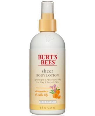 Burt's Bees Clementine & Calla Lilly Sheer Body Lotion