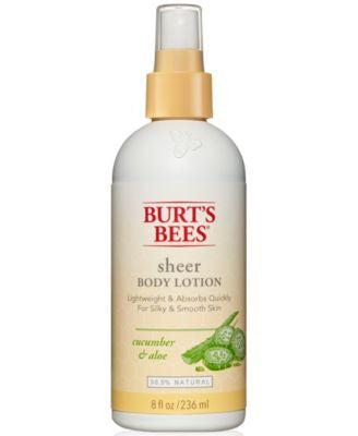 Burt's Bees Cucumber & Aloe Sheer Body Lotion