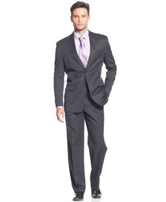 Sean John Black Pinstripe Suit Separates