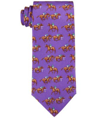 Lauren Ralph Lauren Horse Racing Players Tie