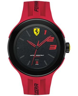 Scuderia Ferrari Men's FXX Red Silicone Strap Watch 46mm 830220