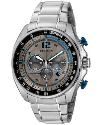 Citizen Men's Chronograph Drive from Citizen Eco-Drive Stainless Steel Bracelet Watch 45mm CA4190-54