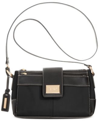 Tignanello Social Status Leather Function Crossbody