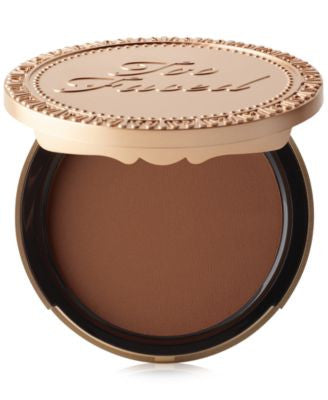 Too Faced Dark Chocolate Soleil Deep/Tan Matte Bronzer