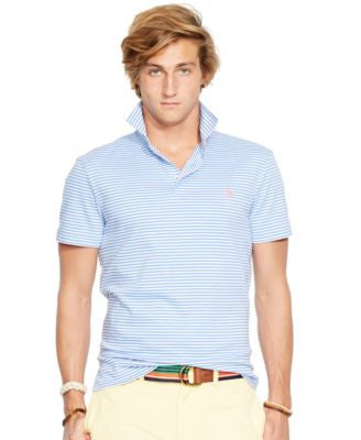 Polo Ralph Lauren Men's Striped Pima Soft-Touch Shirt