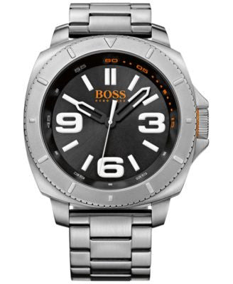 BOSS Orange Men's Sao Paulo Stainless Steel Bracelet Watch 54mm 1513161