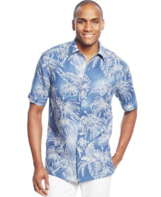 Tasso Elba Zen Resort Printed Shirt
