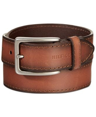 Tommy Hilfiger Brown Burnished Belt