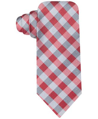 Ryan Seacrest Distintion Melrose Gingham Slim Tie