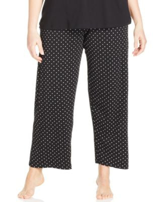 HUE Plus Size Rio Dot Pajama Pants