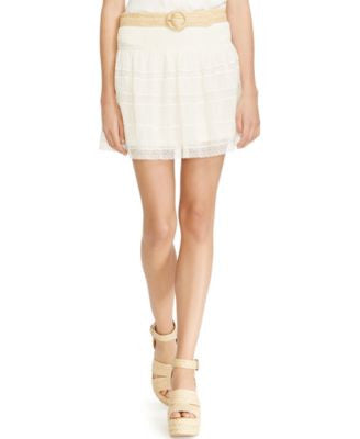 Polo Ralph Lauren Lace Mini Skirt