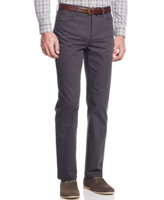 Alfani Big and Tall Kettle Slim Pinstripe Pants, Only at Vogily