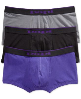 Papi Men's 3-Pack Brazilian Boxer Briefs