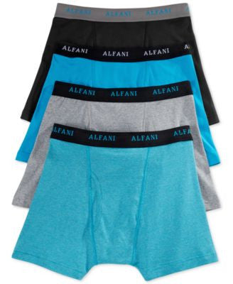 Alfani 4-Pack Tagless Boxer Briefs