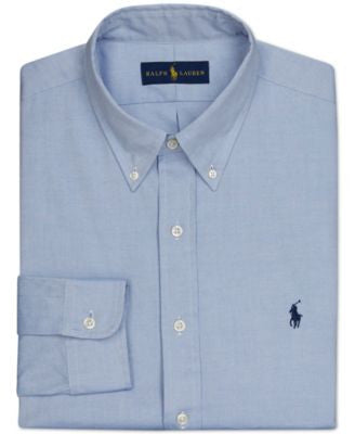 Polo Ralph Lauren Pinpoint Oxford Solid Dress Shirt