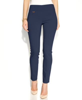 Alfani Petite Tummy-Control Pull-On Skinny Pants