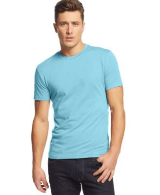 Alfani Big and Tall Solid Stretch Crew-Neck T-Shirt