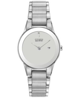 Citizen Women's Eco-Drive Stainless Steel Bracelet Watch 30mm GA1050-51A