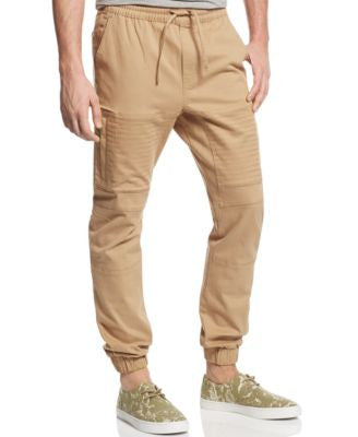 Basement by Ring of Fire Men's Twill Biker Jogger Pants