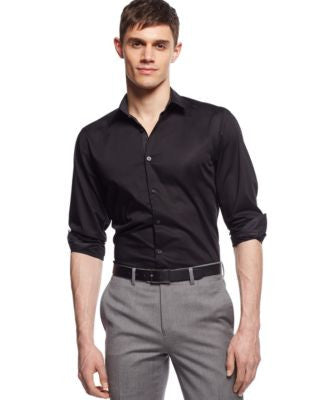 Alfani Big and Tall Holden Solid Shirt