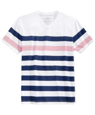 American Rag Men's Striped T-shirt