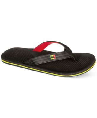 Quiksilver Men's Haleiwa Deluxe Thong Sandals