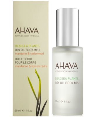 Ahava Dry Oil Body Mist Mandarin and Cedarwood Travel Size