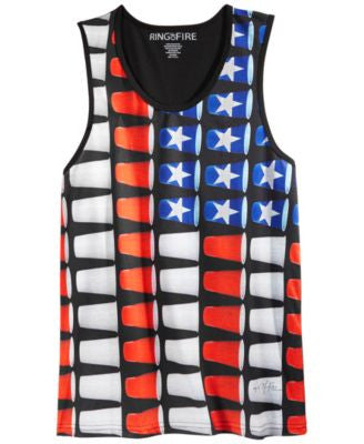 Ring of Fire Flag Sublimated Tank