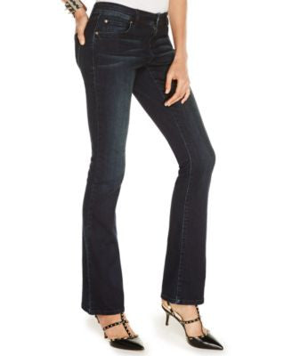 INC International Concepts Petite Bootcut Jeans, Phoenix Wash