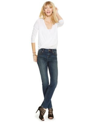 INC International Concepts Curvy-Fit Skinny Jeans, Chorus Wash, Only at Vogily