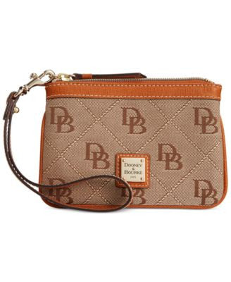 Dooney & Bourke Maxi Quilt Americana Signature Medium Wristlet, A Vogily Exclusive Style