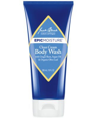 Jack Black Epic Moisture Cream Body Wash, 10 oz