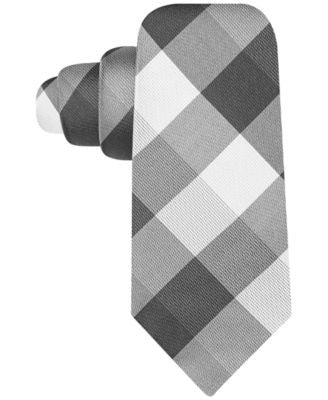 Ryan Seacrest Distinction Weho Check Slim Tie