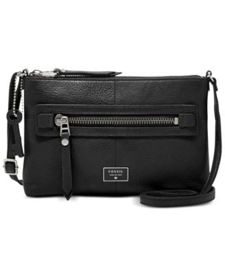 Fossil Dawson Leather Crossbody